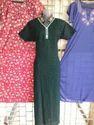 Ladies Half Gown