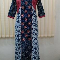 Cotton With Mirror Work Kurtis