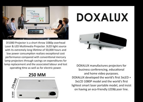 Home Theater Projector Doxalux Model Dle1080