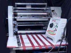 Sliver Paper Plate Lamination Machine 24 inch