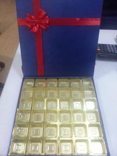 Empty Chocolate Gift Boxes 12 Cavity Chocolate Box