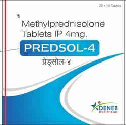 Methylprednisolone (Predsol - 4 Tablet)