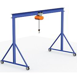 fixed height portable gantry crane