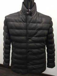 Medium And XL Pure Leather Mens Leather Jacket