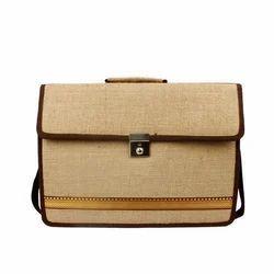 Brown Plain Corporate Jute Bags, Size: 32 x 40 x 8 cm