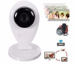 Ip Camera H.264 720p Hd Cmos Wifi Alarm Indoor P2p CCTV Cam