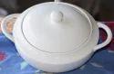 Plain Ceramic Serving Bowl, Size: Oval