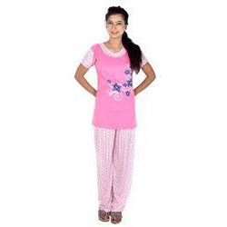4a5bbd7d2 Ladies Night Suit - Printed Ladies Night Suit Manufacturer from Ludhiana