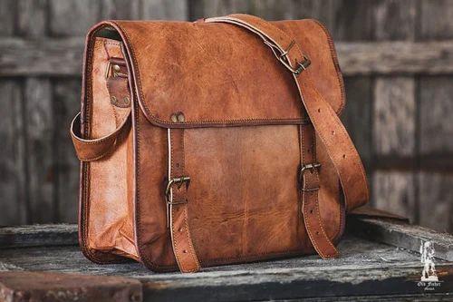 Goat Leather Bags गोट लेदर बैग बकरी के चमड़े का बैग