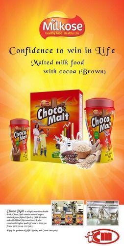 Choco Malt Energy Drink 500grm Pack Type 20pcs Box Rs 215 Piece Id 12681119748