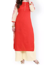 Party wear Nayo Red Kurta