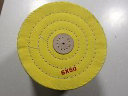Yellow Treated Cloth Buff 6 X 50