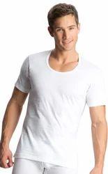 White Round Neck Undershirt