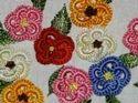 Multicolour Three Work Embroidery