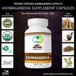 Supreme Quality Ashwagandha Capsules-500mg