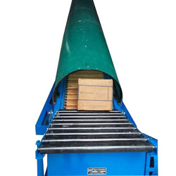 Box Loading Conveyor with Fiber Dom