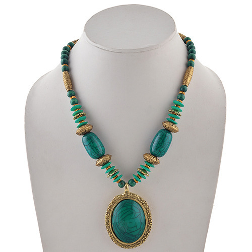 necklace king andean d pendant beaded turquoise blue with products jay