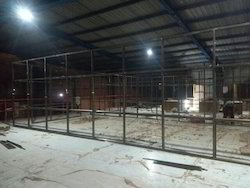 Aluminium Partition Fabrication Work