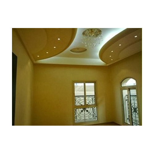 Contemporary POP False Ceiling in Kolkata, Garden Reach by ...