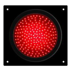 Red LED Traffic Light