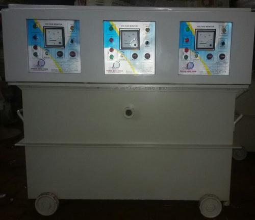 Three Phase 30 Kva Oil Cooled Servo Voltage Stabilizer Rs