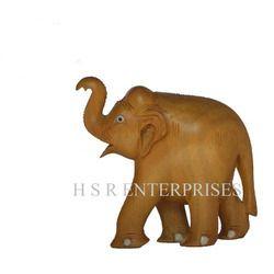 Plain Elephant Statue