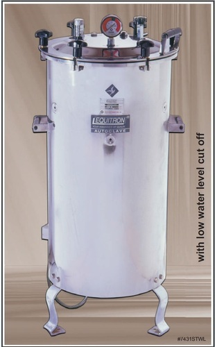 Equitron Standard (STWL) Vertical Autoclave