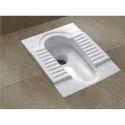 White Ceramic Squatting Pan