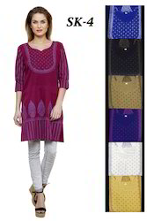 Cotton Printed Tunic Kurtis