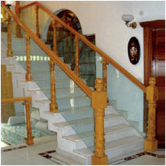 Crafted Stair Case