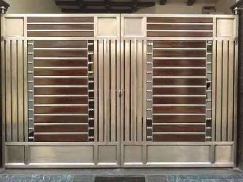 Stainless Steel Gates. Stainless Steel Gates at Rs 1199  square feet   Sakinaka   Mumbai