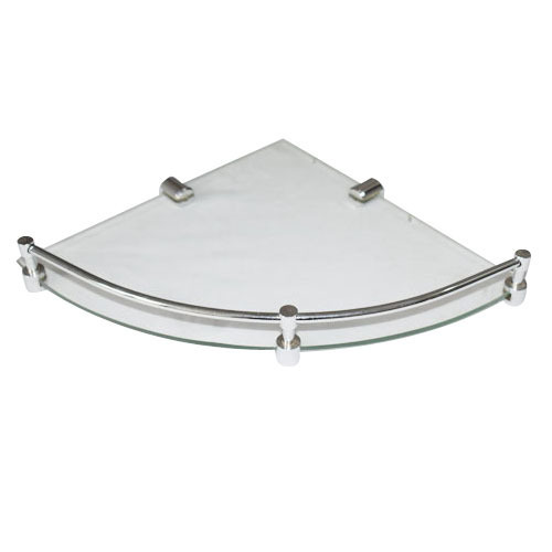 Bathroom Glass Corner Shelf at Rs 80 /piece | Prahladpur Delhi | New ...