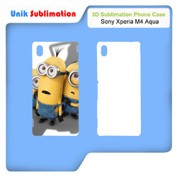 3D Sublimation Mobile Cover for Sony Xperia M4 Aqua