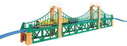 Road Suspension Bridge - Model