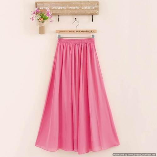 f034a9e39c Medium Wrap Fox Georgette ladies Bottom Wear Western Skirt, Size: Medium
