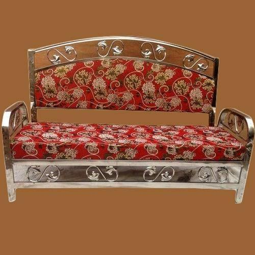 Shree Krishna Tent And Furniture Stainless Steel Sofa Set Rs 3500