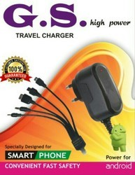 5 Pin Mobile Charger