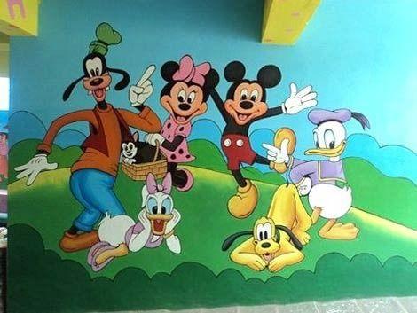 Canvas Kids Room Painting