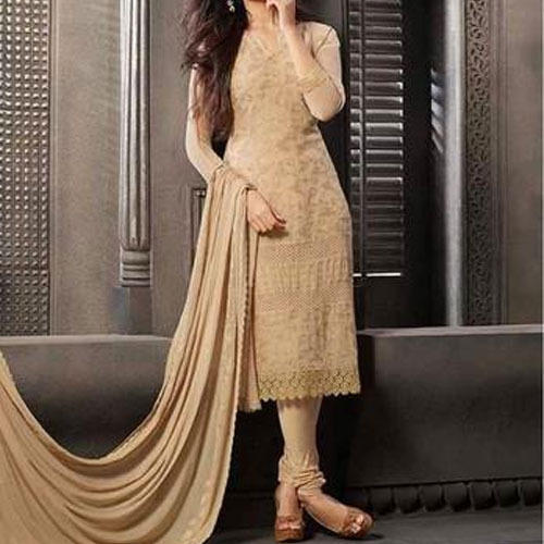 Party Wear Fashionable Churidar Suit