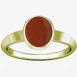 Carnelian Panchdhatu Ring