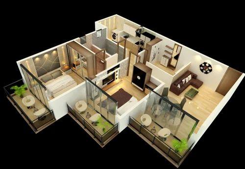 Attractive Interior Designing And Civil Work