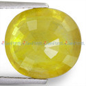 6.9 Carats Yellow Sapphire