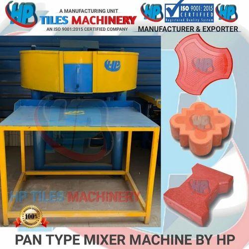 3 Phase Mild Steel Pan Mixture, Capacity: 500 kg