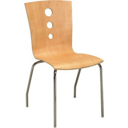 Wooden Cafeteria Chair