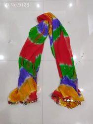 Chiffon Dupatta Multicolor