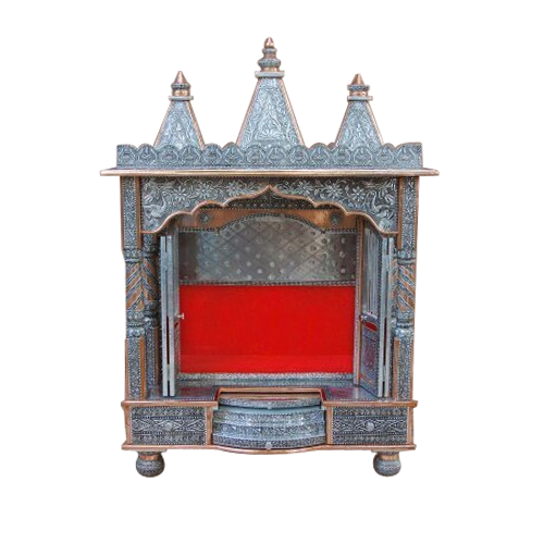Handcrafted Wooden Home Temples