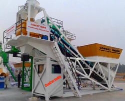 Twins Shaft Concrete Batching Plant CP-M20