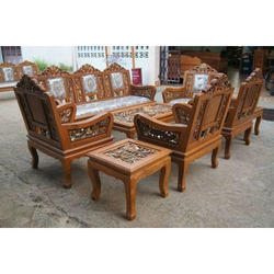 Teak Wood Furniture Sofa Set Images