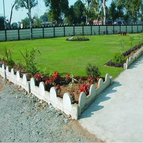 Concrete Garden Curbing View Specifications Details of