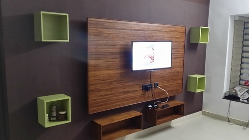 Modular Tv Panel Wooden Tv Panel Manufacturer From Ernakulam